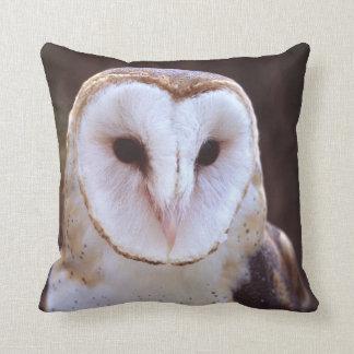 barn owl pillow