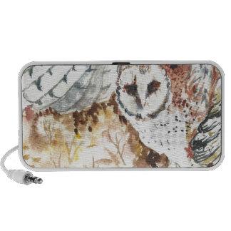 Barn owl portable speakers
