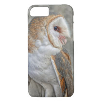Barn Owl Profile iPhone 7 Case