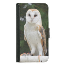 Barn Owl Samsung Phone Wallet