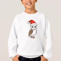 Barn Owl Santa Kids' American Apparel Organic T-Shirt