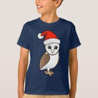 Barn Owl Santa Kids' Hanes TAGLESS® T-Shirt