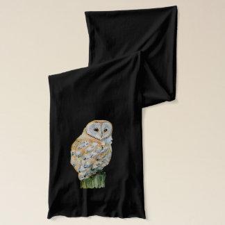 Barn owl scarf
