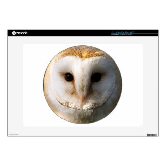 """Barn Owl"" Laptop Decal"
