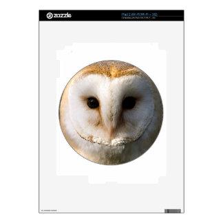 """""""Barn Owl"""" Skin For iPad 2"""