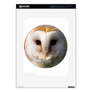"""""""Barn Owl"""" iPad 3 Decals"""