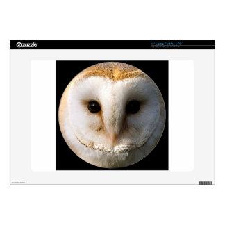 """Barn owl"" Laptop Skins"