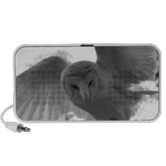 Barn Owl Laptop Speakers