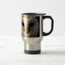"""Barn owl"" Travel Mug"