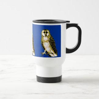 Barn Owl Tshirts, Hoodies, Mugs, Buttons Travel Mug