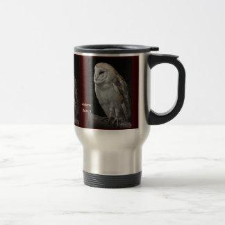 Barn Owl (Tyto alba) Travel Mug