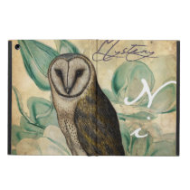 Barn Owl Vintage iPad Air Case
