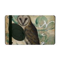 Barn Owl Vintage iPad Case