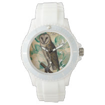 Barn Owl Vintage Wristwatch