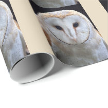 Barn Owl Wrapping Paper