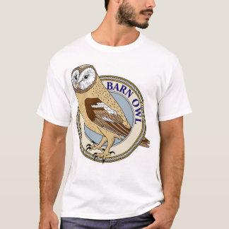 Barn Owl (Yellow)-M T-Shirt