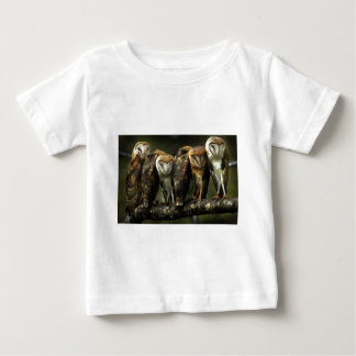 Barn Owls Baby T-Shirt