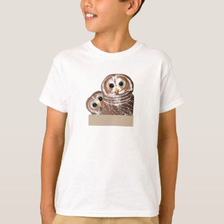 Barn Owls Stare T-Shirt