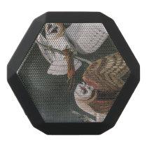 Barn Owls, the Birds of America John James Audubon Black Bluetooth Speaker