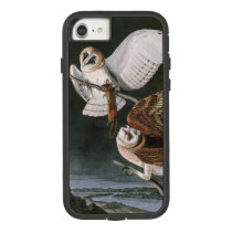 Barn Owls, the Birds of America John James Audubon Case-Mate Tough Extreme iPhone 8/7 Case