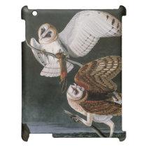 Barn Owls, the Birds of America John James Audubon Cover For The iPad 2 3 4