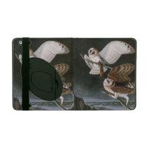 Barn Owls, the Birds of America John James Audubon iPad Case