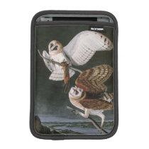 Barn Owls, the Birds of America John James Audubon iPad Mini Sleeve