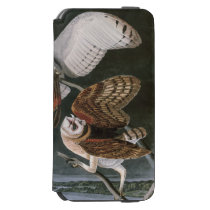Barn Owls, the Birds of America John James Audubon iPhone 6/6s Wallet Case