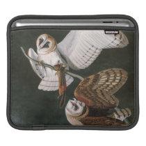 Barn Owls, the Birds of America John James Audubon Sleeve For iPads
