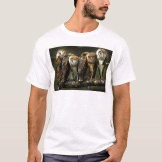 Barn Owls white shirt