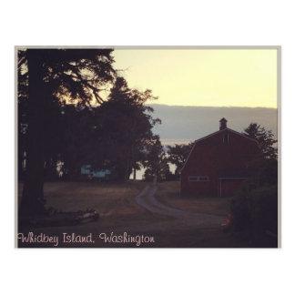 Barn Postcard