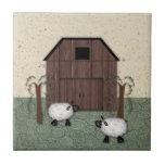 Barn Sheep Tile