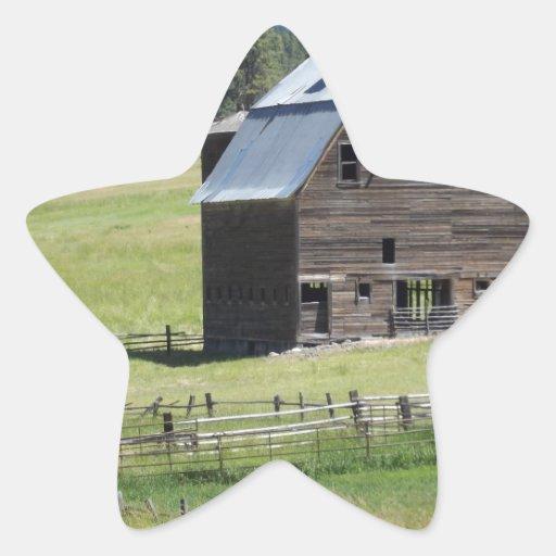 Barn Star Sticker