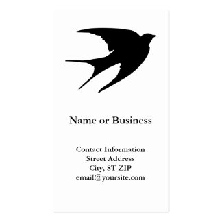 Barn Swallow Business Cards