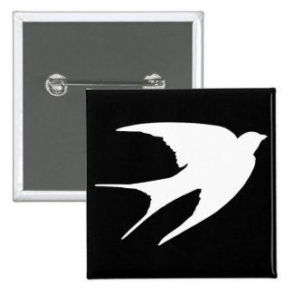 Barn Swallow Button
