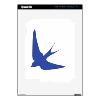 Barn Swallow Decal For iPad 3