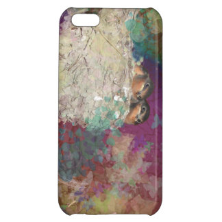 Barn Swallow Fantasy 60's Two Birds in a Nest2 iPhone 5C Covers