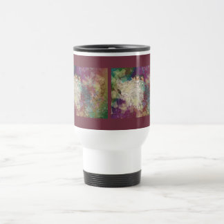 Barn Swallow Fantasy 60's Two Birds in a Nest Travel Mug