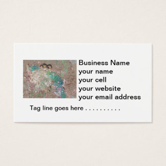 Barn Swallow Fantasy - Birds in a nest Business Card