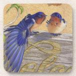 Barn Swallows, Bluebirds Coasters