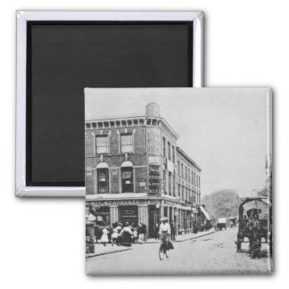 Barn Tavern, Highbury, c.1900 2 Inch Square Magnet