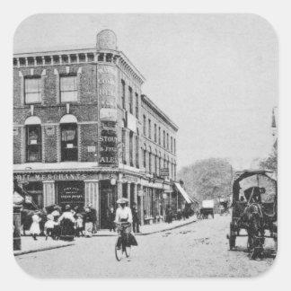 Barn Tavern, Highbury, c.1900 Square Sticker