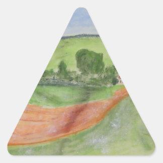 Barn Triangle Sticker