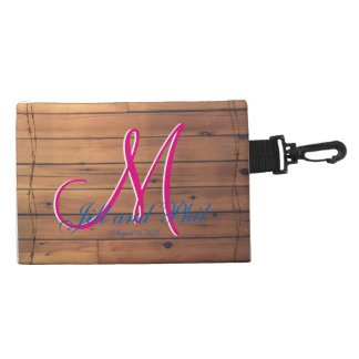 Barn Wall 3d Monogram Accessory Bags