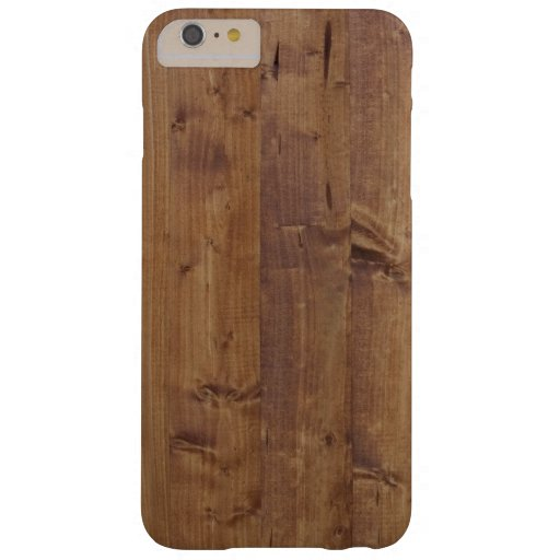Barn Wall Made of Old Wooden Planks - Brown Barely There iPhone 6 Plus Case