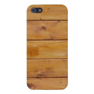 Barn Wall Made of Old Wooden Planks - Brown Cases For iPhone 5