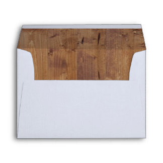Barn Wall Made of Old Wooden Planks - Brown Envelope