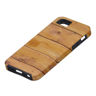 Barn Wall Made of Old Wooden Planks - Brown iPhone 5 Covers