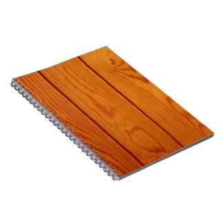 Barn Wall Made of Old Wooden Planks - Brown Note Books