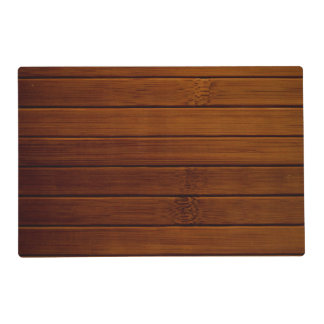 Barn Wall Made of Old Wooden Planks - Brown Placemat